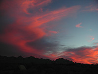 Big Bend Sunset Clouds